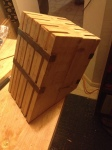 Resulting glue up, different angle